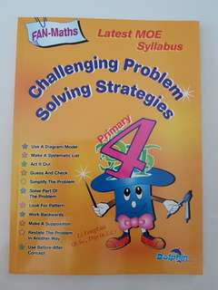 Primary 4 maths book
