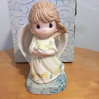 Buy 3 Get 1 free : Precious Moments Girl Figurine: Your Friendship Brings Light to my Life
