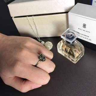 復古玫瑰戒指(現貨)