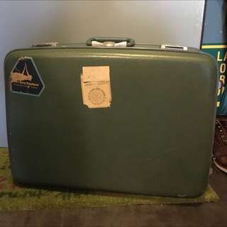70,80年氏旅行喼 vintage luggage case