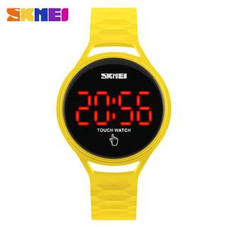 SKMEI Jam Tangan LED Touch Wanita - 1230A - Yellow