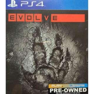 Used Playstation 4 PS4 Evolve Region 3 (NEAREST MRT)