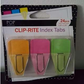 BN Clip-rite Index Tabs