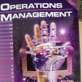 Operations Management, MultiMedia Version, by Roberta S. Russell and Bernard W. Taylor III