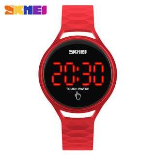 SKMEI Jam Tangan LED Touch Wanita - 1230A - Red