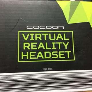 Virtual reality beadset