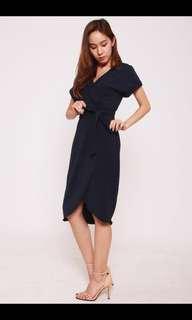 Tracyeinny Navy Dress