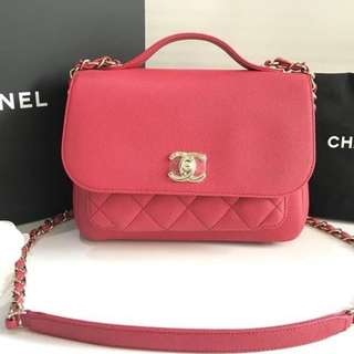 Authentic Chanel Affinity Medium Salmon Pink