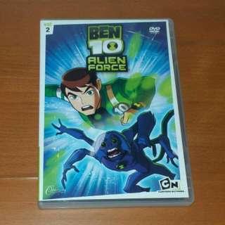 Ben 10 Alien Force Vol 2 DVD