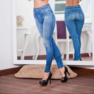 PO Plus Size Leggings Jeans