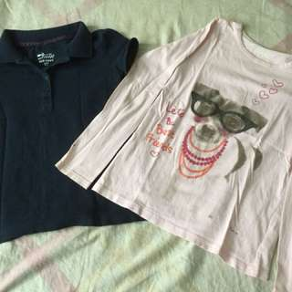 Preloved tshirts for girls