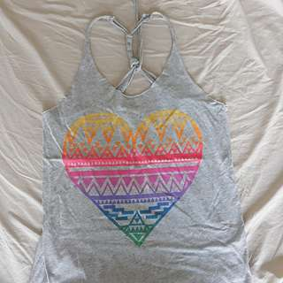 Forever 21 tank top w/ back detail