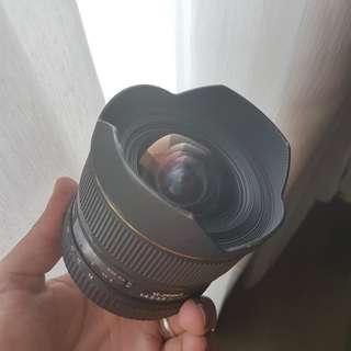Widest Nikkor Lens sigma 12-24