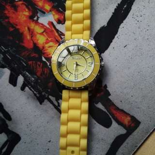 Yellow Milano watch