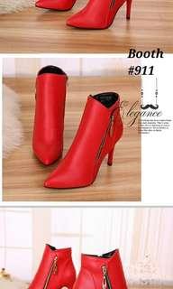 Booth high heels #911
