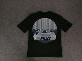 Palace Black Tri-Curtain Tee
