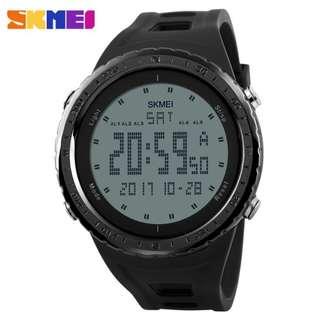 大錶盤 多功能 運動手錶 電子錶