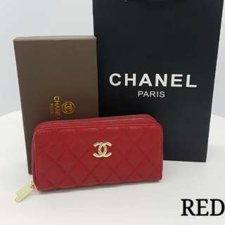 Chanel Purse Red Color