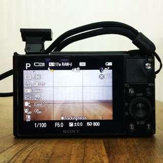 SONY Cyber-Shot DSC-RX100 Black!!