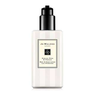 ♡ Jo Malone London 英國梨與小蒼蘭身體乳, English Pear & Freesia Body & Hand Lotion 250ML ♡