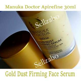 Instant Boost Lifting Firming Manuka Doctor Gold Dust Firming Serum With Bee Venom Face Facial Face Skin Sellzabo
