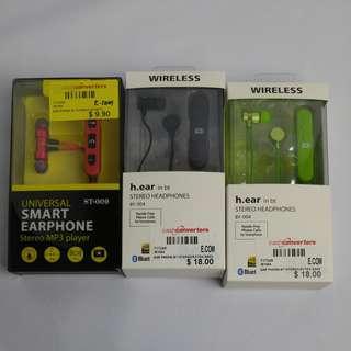 BNIB Bluetooth Earphones