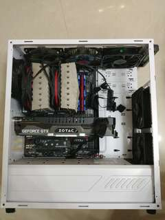 Msi z97 gaming 7 + i7 4790k + 8gbx2 2400 ram+assasin散熱器