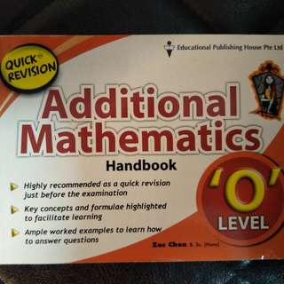 A Math Handbook (Quick Guide)