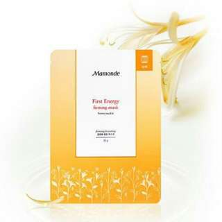 MAMONDE First Energy Firming Mask Set