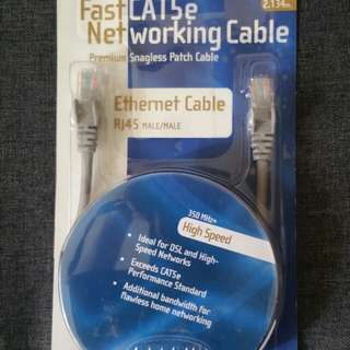 Networking Cable Fast CAT5e Ethernet Cable