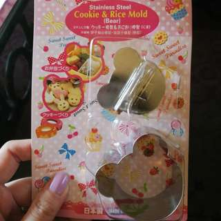 2-in-1 Cookie Cutter and Rice Mold