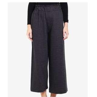 Celana Panjang Kulot - Dark Grey