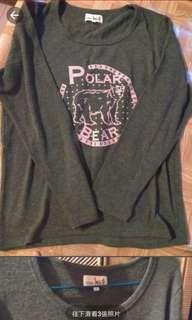 全新titicca 山系熊款冷衫