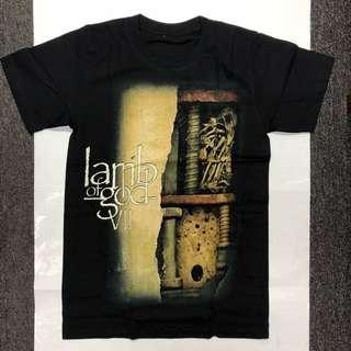 Lamb of God - VI T-shirt Band Merch (S/M/L/XL)