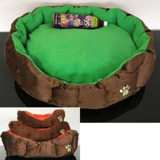 Pet bed (EXTREMELY THICK CUSHION) cat dog kitten puppy cushion play toy
