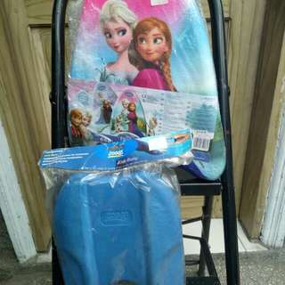 Frozen and Zoggs kickboard for kids