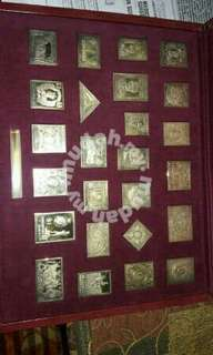 Gold stamps 80years Bck
