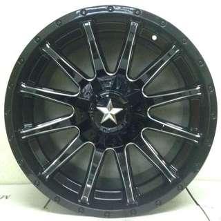 SPORT RIM 4X4 20inch STAR WHEELS