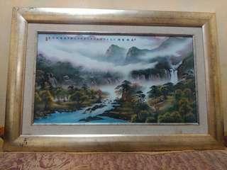 Lukisan Porselen China Tua