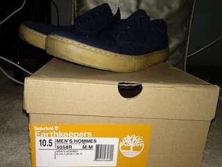 Timberland sneakers biru dongker size 44.5/28.5cm/10.5 (size 45 msh bisa)
