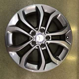 "17"" 5x112 mercedes c class original wheel from new car 1 set $500"