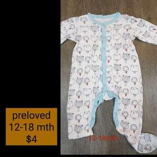 Preloved Sleepsuit ( 12-18 mth )