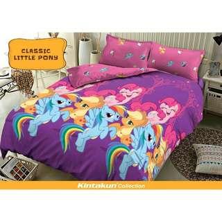 Sprei King Kintakun 3D Santika Deluxe / D'luxe Classic Little Pony