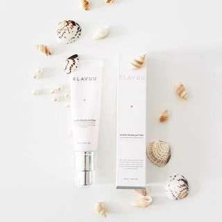 🚚 KLAVUU white pearlsation cream (30G)