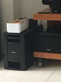 Bose Lifestyles 18 woofer only ( no cable )