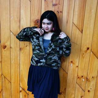FREE ONGKIR - Army Jacket / Outwear