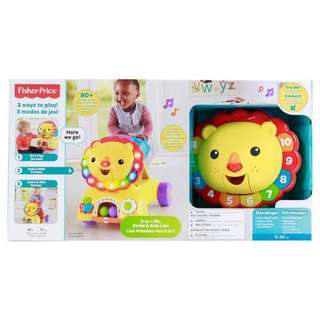 Fisher Price - 3 in 1 Stride to Ride Lion