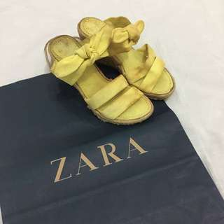 Zara TRF Summer Wedges