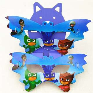 PJ MASKS Party Masks (Pack of 10)