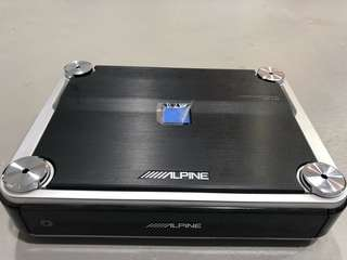 Alpine 4 channel power amplifier